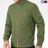 /achat-vestes/tommy-hilfiger-jeans-veste-zippee-essential-7366-vert-kaki-206219.html