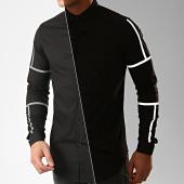 /achat-chemises-manches-longues/berry-denim-chemise-manches-longues-xp001-noir-reflechissant-206329.html