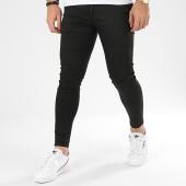 /achat-pantalons-carreaux/grj-denim-pantalon-a-carreaux-slim-14127-noir-206337.html