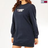 /achat-robes/tommy-jeans-robe-sweat-crewneck-femme-heart-logo-7592-bleu-marine-206355.html