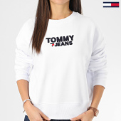 /achat-sweats-col-rond-crewneck/tommy-jeans-sweat-crewneck-femme-corp-heart-7804-blanc-206357.html