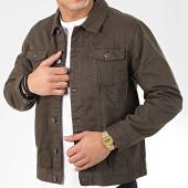 /achat-vestes-jean/brave-soul-veste-jean-polar-vert-kaki-206429.html