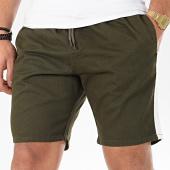 /achat-shorts-chinos/brave-soul-short-chino-a-bandes-connor-vert-kaki-blanc-206435.html