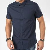 /achat-chemises-manches-courtes/brave-soul-chemise-manches-courtes-mombassab-bleu-marine-206487.html