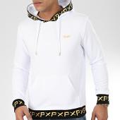 /achat-sweats-capuche/project-x-sweat-capuche-2020056-blanc-noir-dore-206479.html