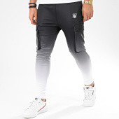 /achat-pantalons-joggings/siksilk-pantalon-jogging-poly-athlete-15512-noir-blanc-degrade-206536.html