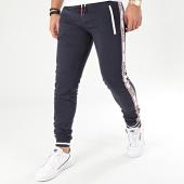 /achat-pantalons-joggings/deeluxe-pantalon-jogging-a-bandes-sodyo-bleu-marine-blanc-206604.html