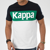 /achat-t-shirts/kappa-tee-shirt-irwing-3112dkw-blanc-vert-bleu-marine-206752.html