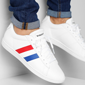 /achat-baskets-basses/le-coq-sportif-baskets-courtclassic-flag-2010198-optical-white-206794.html