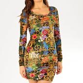 /achat-robes/versace-jeans-couture-robe-femme-manches-longues-d2hva445-s0664-dore-renaissance-floral-206810.html