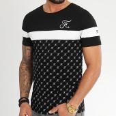 /achat-t-shirts/final-club-tee-shirt-allover-tricolore-avec-broderie-335-blanc-noir-206922.html
