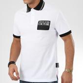 /achat-polos-manches-courtes/versace-jeans-couture-polo-manches-courtes-b3gva7p5-36571-blanc-noir-206829.html