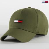 /achat-casquettes-de-baseball/tommy-jeans-casquette-baseball-flag-5190-vert-kaki-207012.html