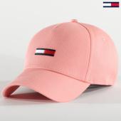 /achat-casquettes-de-baseball/tommy-hilfiger-jeans-casquette-femme-flag-7222-rose-207036.html