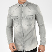 /achat-chemises-manches-longues/uniplay-chemise-jean-manches-longues-179-gris-207041.html