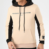 /achat-sweats-capuche/uniplay-sweat-capuche-hd-27-beige-noir-207056.html