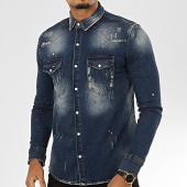 /achat-chemises-manches-longues/uniplay-chemise-en-jean-174-bleu-denim-207076.html