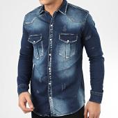 /achat-chemises-manches-longues/uniplay-chemise-jean-manches-longues-172-bleu-denim-207078.html