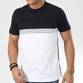/achat-t-shirts/antony-morato-tee-shirt-sport-heritage-mmks01755-bleu-marine-blanc-207179.html