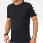 /achat-t-shirts/antony-morato-tee-shirt-a-bandes-sport-heritage-mmks01739-bleu-marine-207180.html