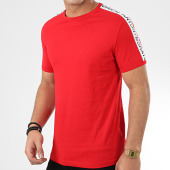 /achat-t-shirts/antony-morato-tee-shirt-a-bandes-sport-heritage-mmks01739-rouge-207181.html