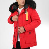 /achat-parkas/uniplay-parka-fourrure-t99126-rouge-beige-207113.html