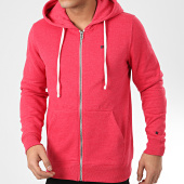 /achat-sweats-zippes-capuche/teddy-smith-sweat-zippe-capuche-gelly-3-rouge-chine-207200.html