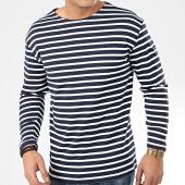 /achat-t-shirts-manches-longues/teddy-smith-tee-shirt-manches-longues-a-rayures-ocean-bleu-marine-blanc-207205.html