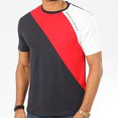 /achat-t-shirts/armani-exchange-tee-shirt-tricolore-3hztfh-zjh4z-bleu-marine-rouge-blanc-207454.html