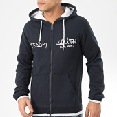 /achat-sweats-zippes-capuche/teddy-smith-sweat-zippe-capuche-giclass-bleu-marine-207429.html