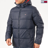 /achat-doudounes/tommy-jeans-doudoune-capuche-essential-hood-puffer-7114-bleu-marine-207458.html