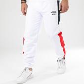 /achat-pantalons-joggings/umbro-pantalon-jogging-tricolore-a-bandes-771980-blanc-bleu-marine-rouge-207467.html