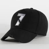 /achat-casquettes-de-baseball/7-binks-casquette-logo-noir-blanc-207581.html
