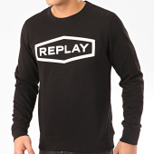 /achat-sweats-col-rond-crewneck/replay-sweat-crewneck-m3088-noir-207624.html