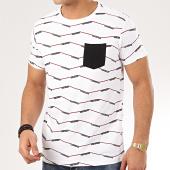 /achat-t-shirts-poche/deeluxe-tee-shirt-poche-a-rayures-keeper-blanc-207641.html
