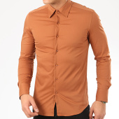 /achat-chemises-manches-longues/frilivin-chemise-manches-longues-ns-7179-marron-207673.html