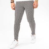 /achat-chinos/frilivin-pantalon-chino-a-carreaux-1686-blanc-noir-marron-207678.html