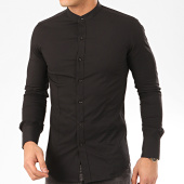 /achat-chemises-manches-longues/frilivin-chemise-manches-longues-col-mao-ns-7229-noir-207690.html
