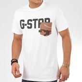 /achat-t-shirts/g-star-tee-shirt-poche-gsraw-ao-d16385-b771-blanc-207716.html