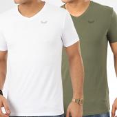 /achat-t-shirts/kaporal-lot-de-2-tee-shirts-gift-vert-kaki-blanc-207710.html