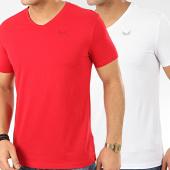 /achat-t-shirts/kaporal-lot-de-2-tee-shirts-gift-rouge-blanc-207711.html