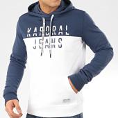 /achat-sweats-capuche/kaporal-sweat-capuche-tosca-blanc-bleu-marine-207735.html