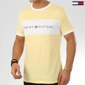 /achat-t-shirts/tommy-hilfiger-tee-shirt-logo-flag-1170-jaune-207763.html
