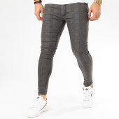 /achat-pantalons-carreaux/grj-denim-pantalon-a-carreaux-skinny-14236-gris-anthracite-207958.html