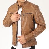 /achat-vestes-biker/mtx-veste-biker-140k-marron-207851.html