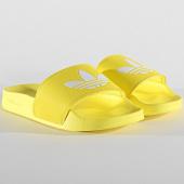/achat-claquettes-sandales/adidas-claquettes-femme-adilette-lite-fu9140-jaune-207991.html
