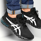 /achat-baskets-basses/asics-baskets-gel-quantum-90-1021a446-black-white-208031.html