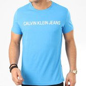/achat-t-shirts/calvin-klein-tee-shirt-institutional-logo-7856-bleu-clair-208015.html
