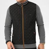 /achat-vestes/classic-series-veste-zippee-10068-gris-anthracite-chine-noir-208199.html