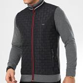 /achat-vestes/classic-series-veste-zippee-10068-gris-anthracite-chine-noir-208200.html